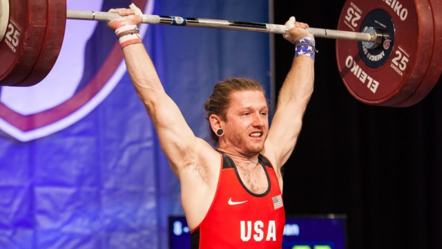 Sean Hutchinson at 2015 USAW American Open