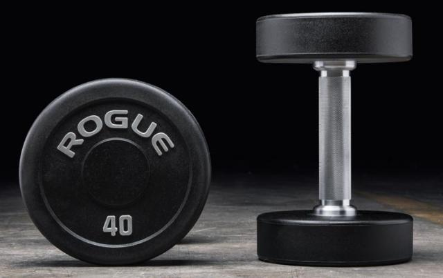 Rogue Fitness Matte Black Friday Sale - Rogue Urethane Dumbbells