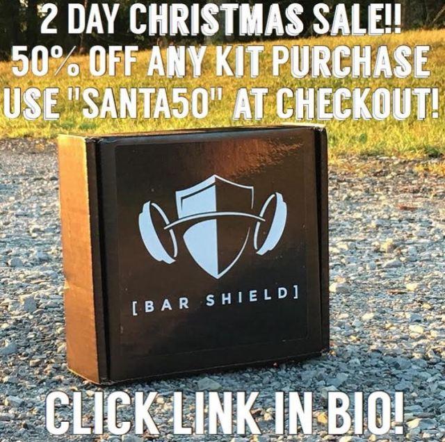 Bar Shield Christmas Sale