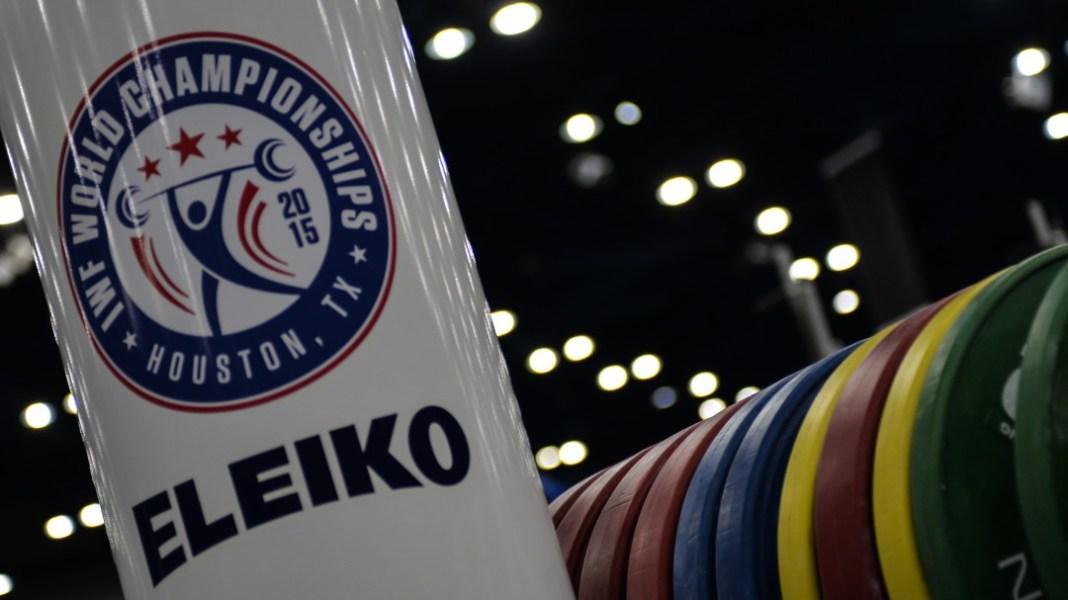 Eleiko at the 2015 IWF World Championships