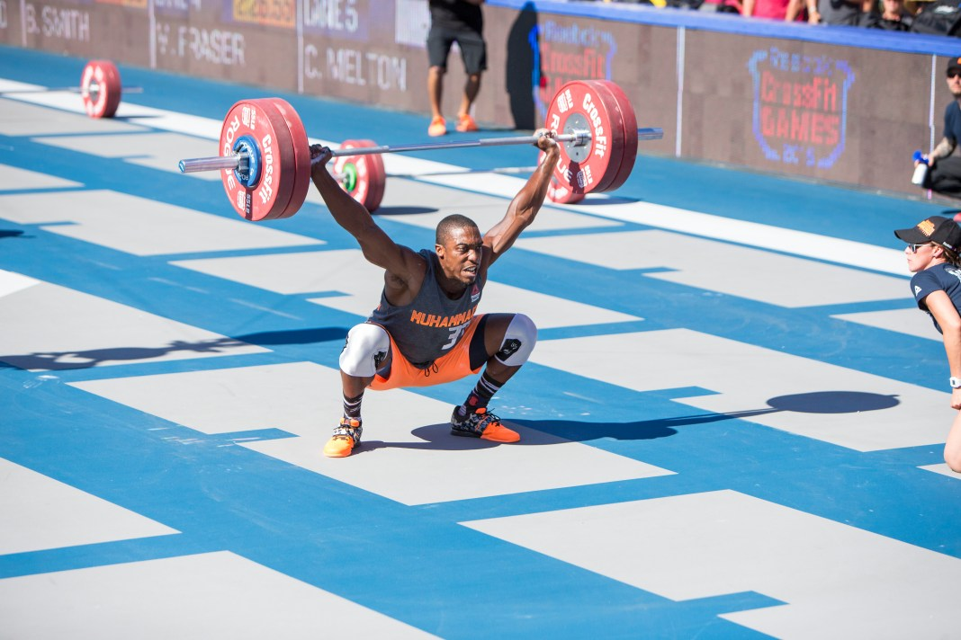 Elijah Muhammad at the 2015 CrossFit Games