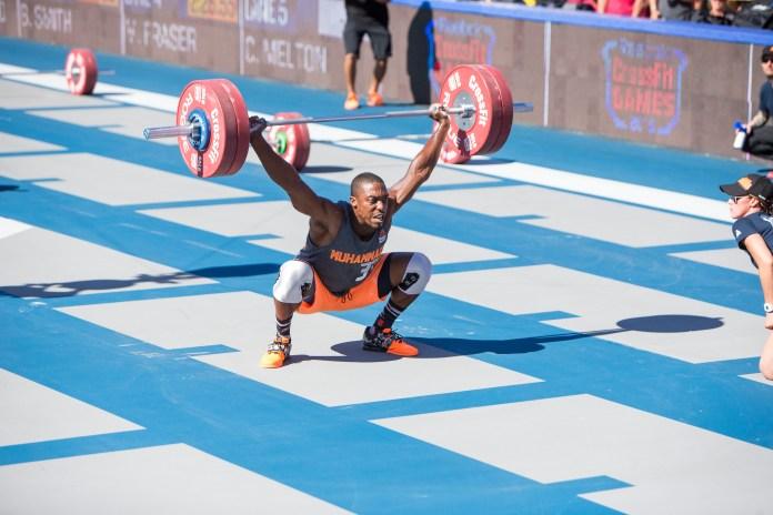 Elijah Muhammad at the 2015 CrossFit Games