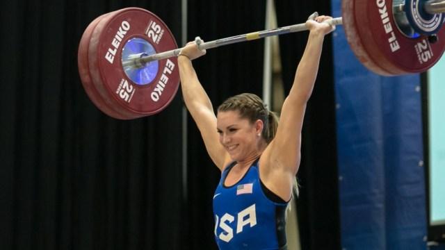 Mattie Rogers at 2016 U25 Championships