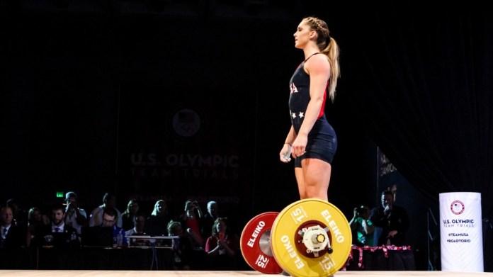 Mattie Rogers at 2016 U.S. Olympic Trials