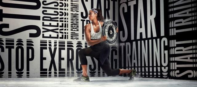 Skylar Diggins in Women's Nike Metcon DSX Flyknit