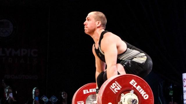 Travis Cooper at U.S. Olympic Trials