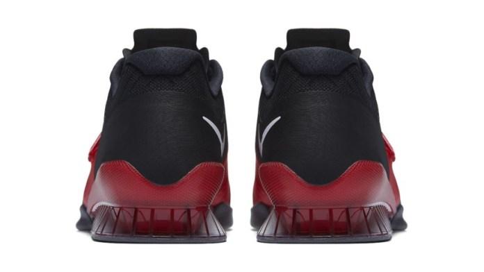 Heel cup of Nike Romaleos 3