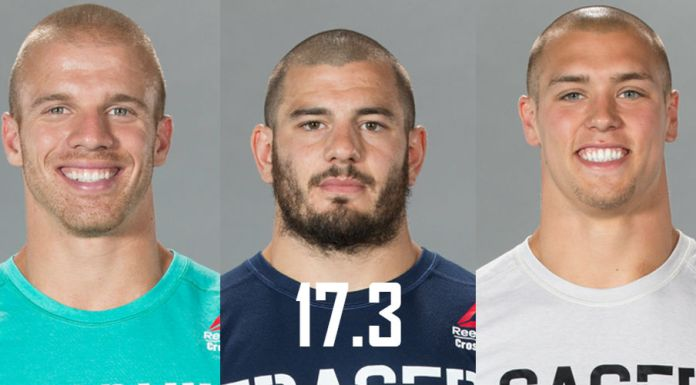 Mat Fraser, Scott Panchik and Cole Sager will take on 17.3