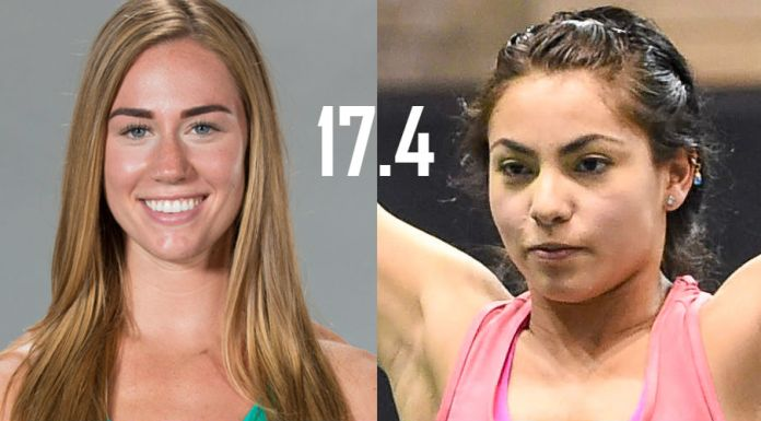 Brooke Wells and Brenda Castro face off in the 17.4 Open Announcement in Mexico City
