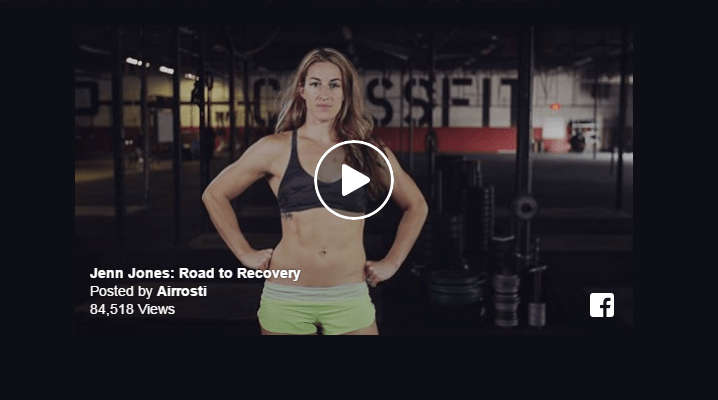 Jenn Jones is featured in a video by Airrosti