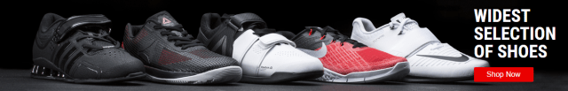 Latest CrossFit shoes available at Rogue Fitness