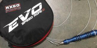 EVO jump rope by RX Smart Gear. @scottpanchik/Instagram
