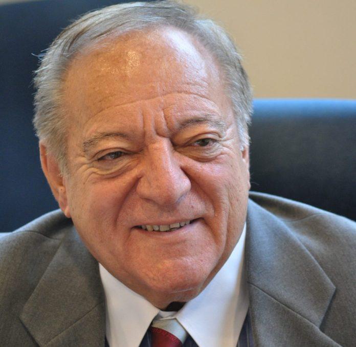 Dr. Tamas Ajan, President of International Weightlifting Federation (IWF).