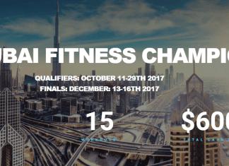 2017 Dubai Fitness Championship