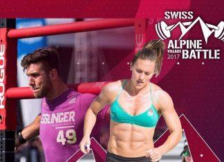 Lukas Esslinger and Jennifer Smith to compete together at the 2017 Swiss Alpine Battle. @swissalpinebattle/Instagram
