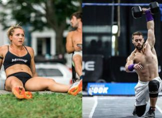 Travis Williams, Alexis Johnson and Jordan Cook considering going team for the 2018 CrossFit Games season. @travismfwilliams/Instagram