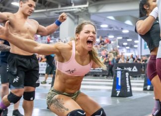 Sheila Barden and Don't Stop demonstrated that they may be podium contenders at the Games. Photo courtesy of CrossFit Inc.
