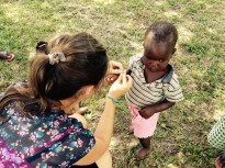 Hannah Styling a Life Beads Child, Blessings.