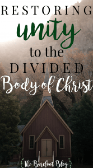 Restoring Unity to the Divided Body of Christ