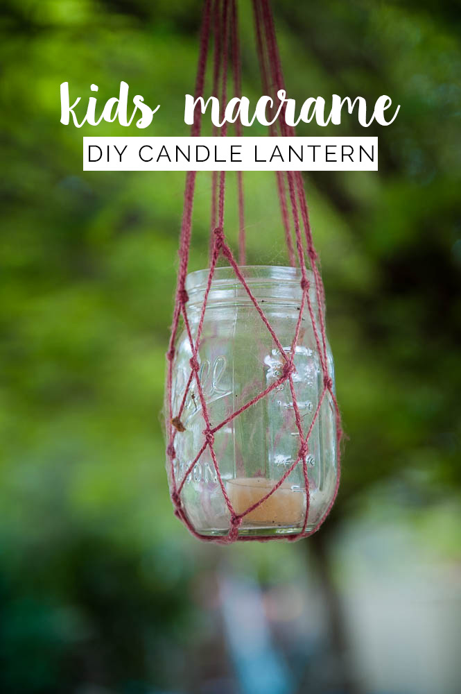easy kids diy macrame