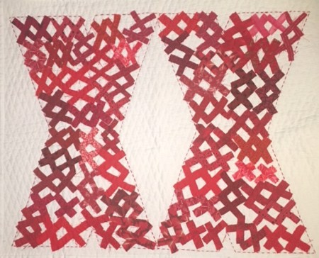 two large red X's filled with smaller red X's