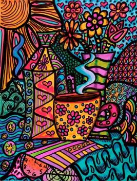 Sunshiney Hippie Morning