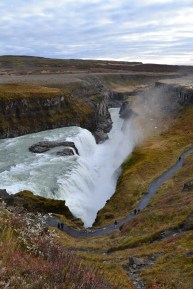 The 90 degree turn of Gullafoss amazes me