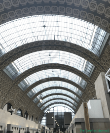 Musée d'Orsay. Train station turned Museum.