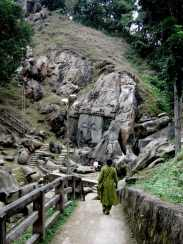 Unakoti stairs