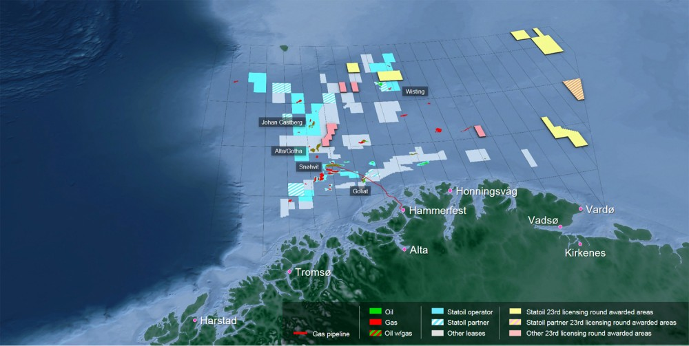 Oil Drilling Map Us