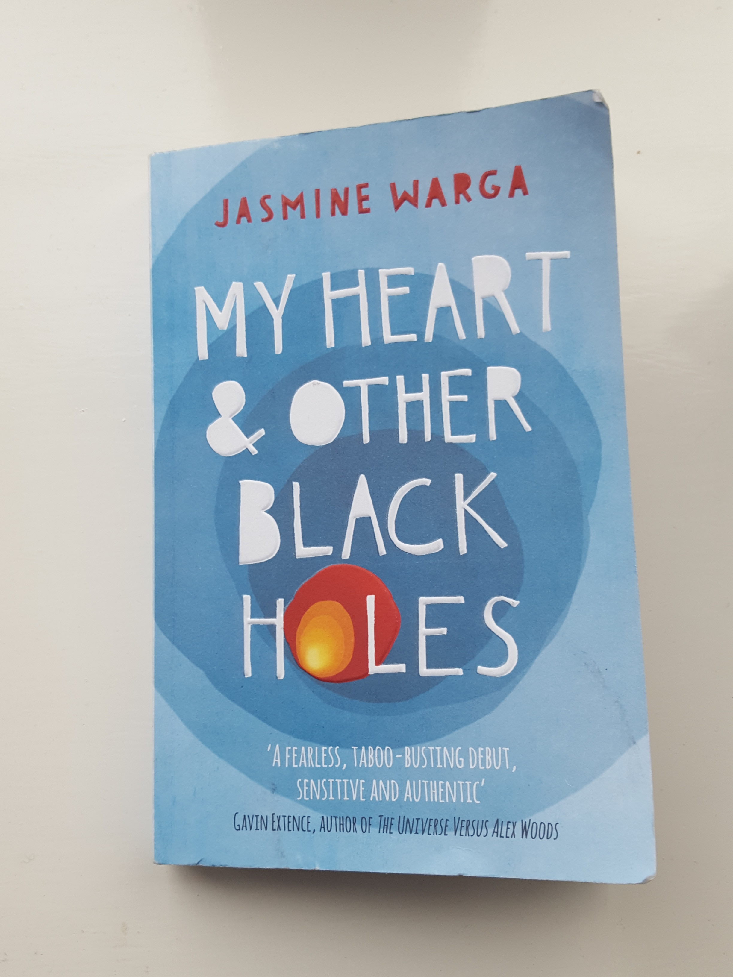 My Heart And Other Black Holes by Jasmine Warga- Book Review