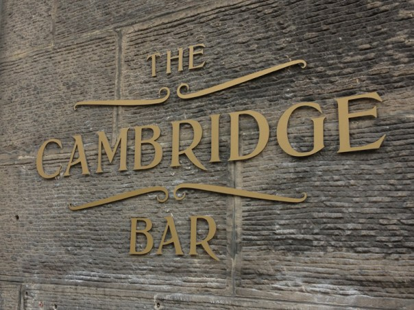The Cambridge Bar on Young Street is a stone's throw from the Oxford Bar