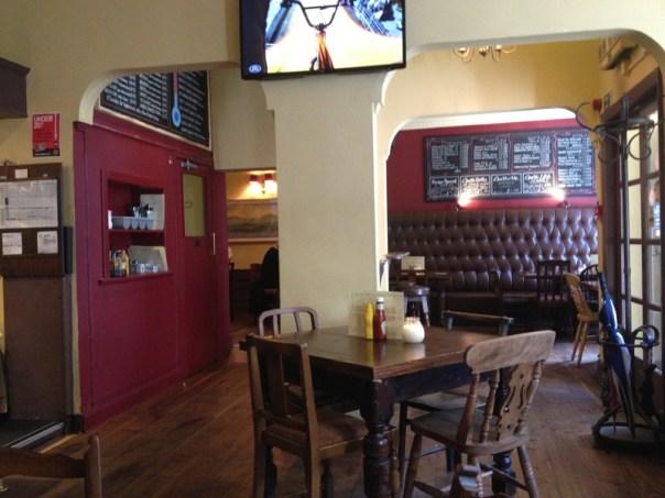 The Cambridge Bar has always felt more burger-bar-like than pub-like