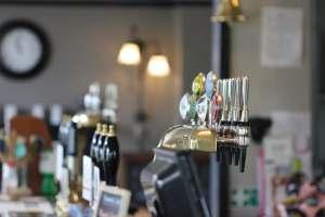 The Barge Inn bar