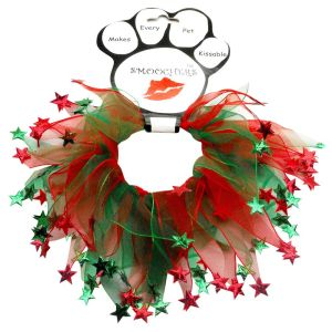 Christmas Necklaces for Dogs