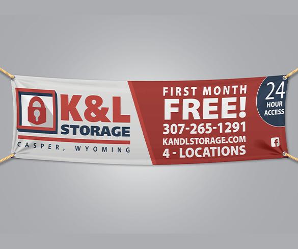 K&L Storage Banner