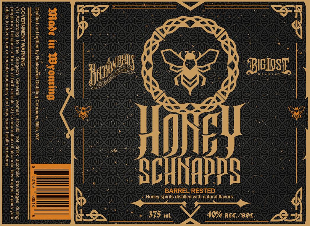 Honey Shnapps Logo Close Up