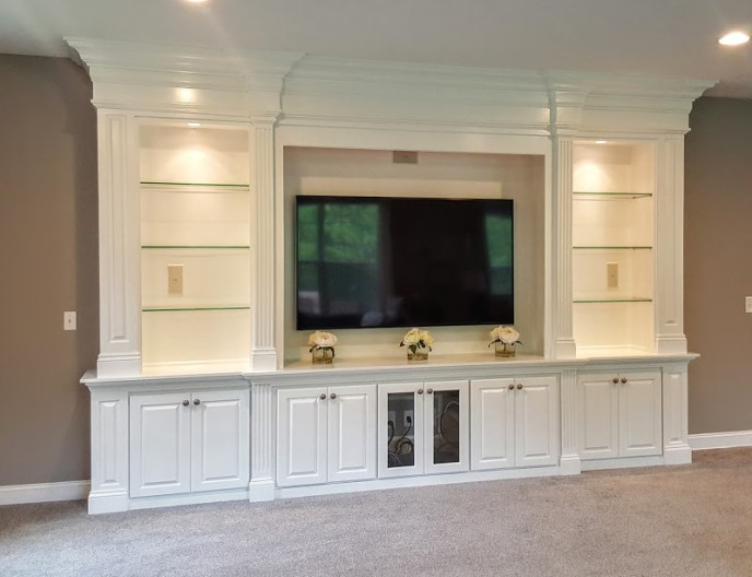 entertainment center built-in