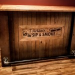 This is a great mancave bar. We can personalize it specifically for you.