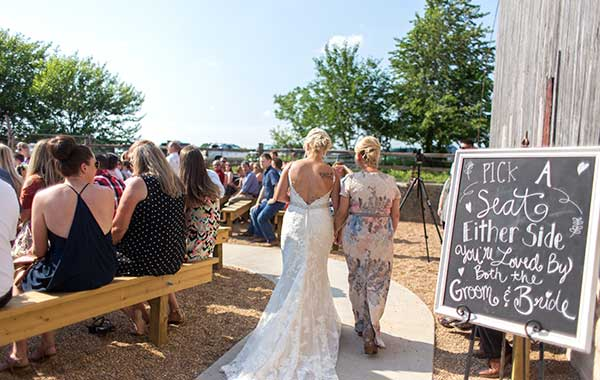 Outdoor Weddings at Belamour