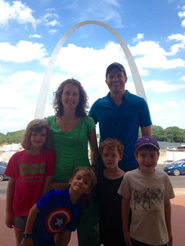 Visiting The Arch