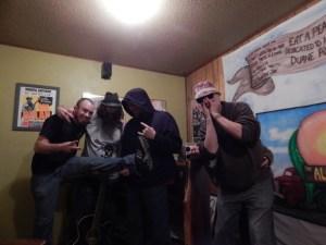 Shawn Knapp, Steve Humphrey, Josh Humphrey, with Nick and ... where's Bootsy?