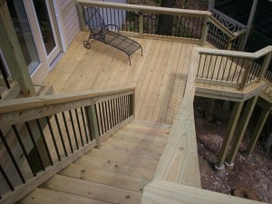 Pressure-Treated Wood deck