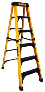 DeWalt DXL3810-06 6-Feet Fibre Glass Stepladder