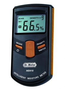 [Upgraded Version] Dr.Meter® MD918 Inductive Pinless Tools Intelligent Moisture Meter Digital Moisture Meter For Wood