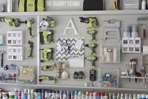 tool Pegboard storage