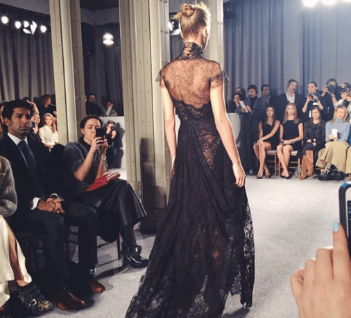 @irelandbbaldwin: This particular piece left me speechless. The entire @marchesafashion show was phenomenal. I am honored to have attended.