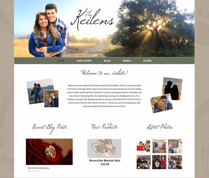 Brandon and Michael just released their new website! Visit it at #newwebsite #Keilens #store…