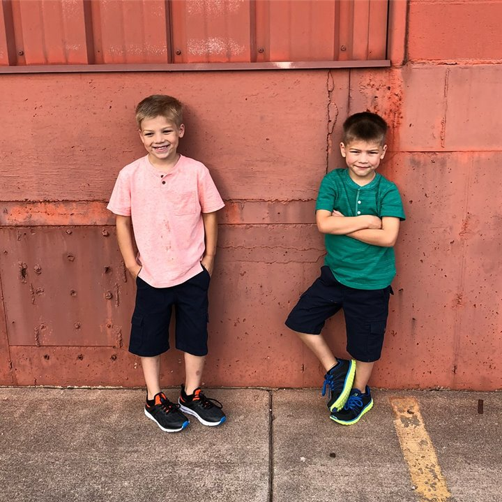 My heart melts every time I see these smiles! They are rotten to the…