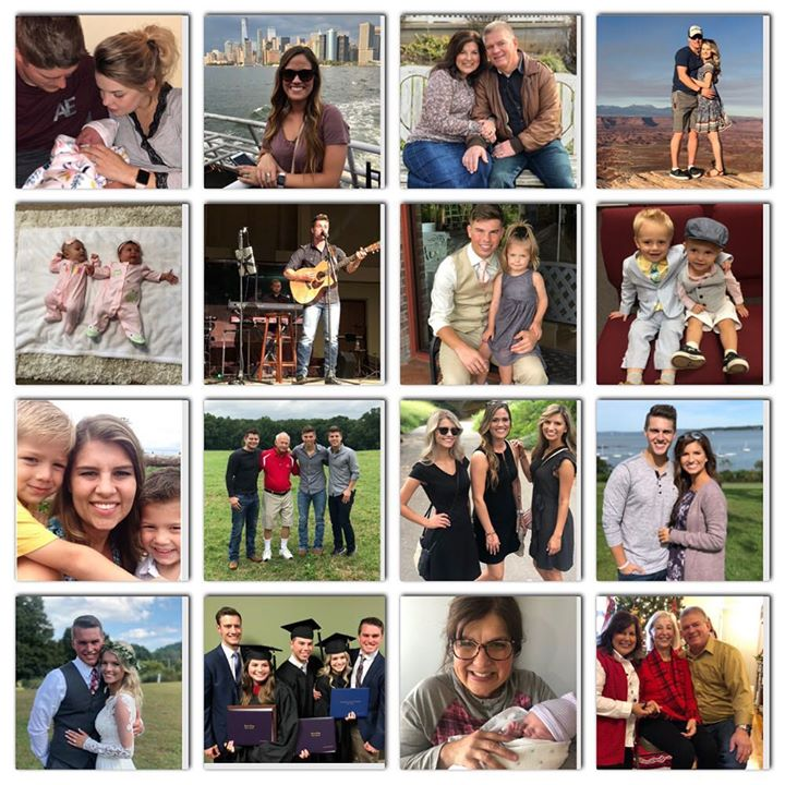 So many wonderful memories in 2018! I'm so grateful for the many blessings! ️